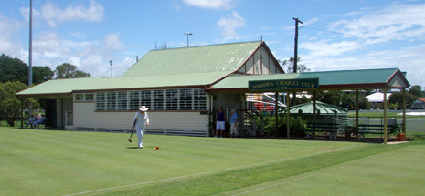 Toombul Croquet Club house